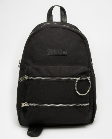 Fashion Shop - UNIF Link Backpack - Black