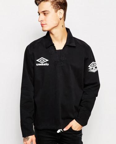 Fashion Shop - Umbro Classic Overhead Jacket - Black