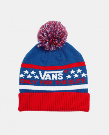 Fashion Shop - Vans Elite Beanie - Redwhiteblue