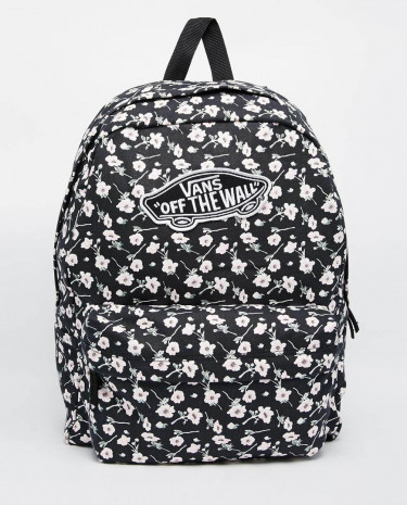 Fashion Shop - Vans Realm Backpack in Ditsy Floral - Indigofloral