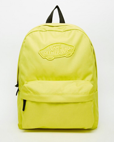Fashion Shop - Vans Realm Backpack in Yellow - Sulphur