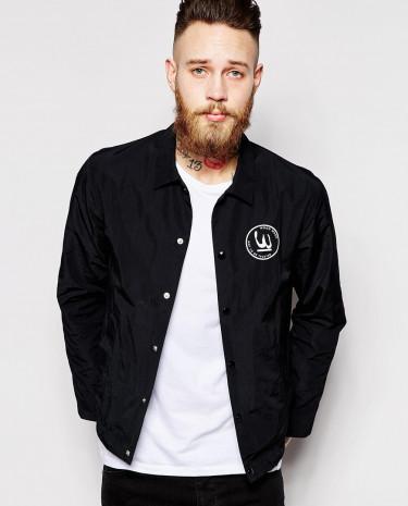 Fashion Shop - Wood Wood Coach Jacket - Black