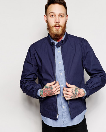 Fashion Shop - YMC Surf Jacket - Navy