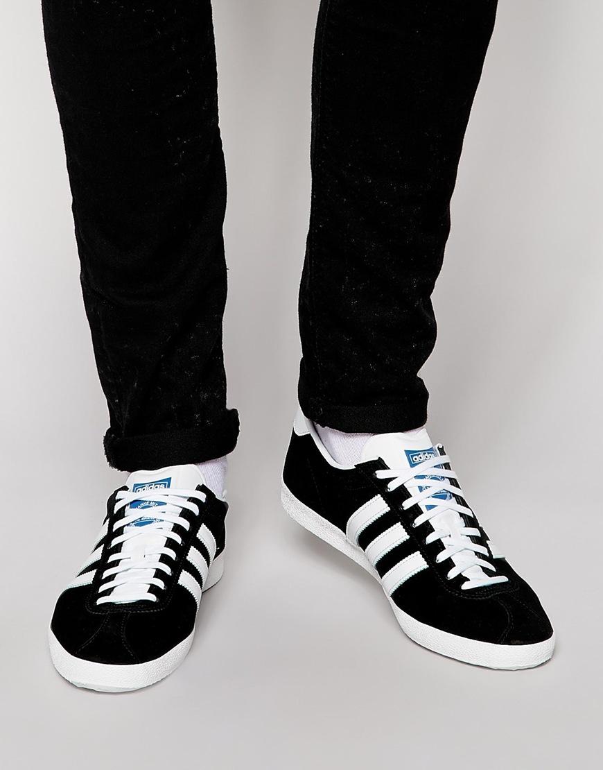 Shop Originals Fashion Gazelle Black G13265 Adidas Og Trainers dxWreCBo