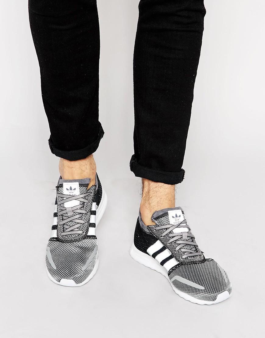 online retailer 38d02 c4cbd adidas Originals Los Angeles Trainers S42020 – Grey