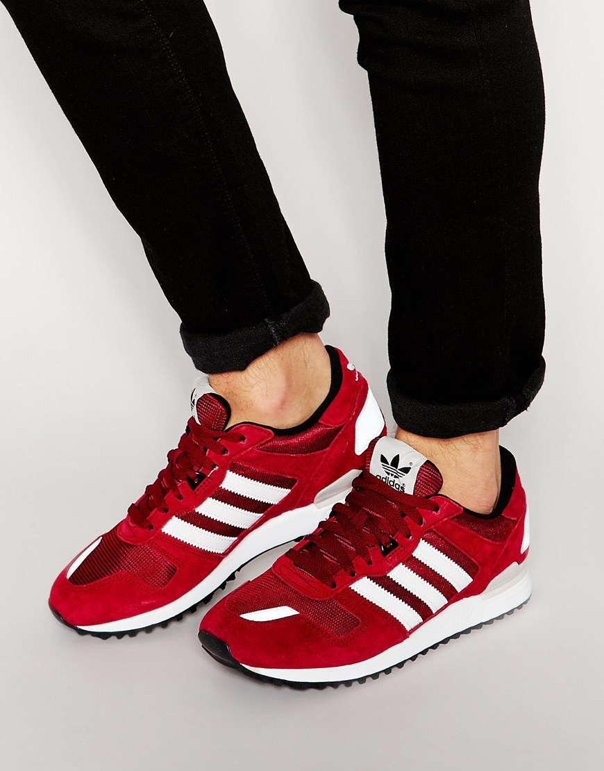 6d85f29ad59a3 ... get fashion shop adidas originals zx 700 trainers red 55cde 24546