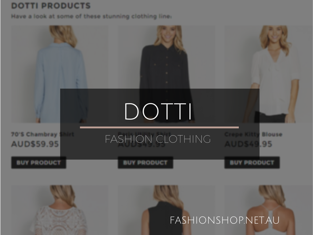 DOTTI FASHION CLOTHING
