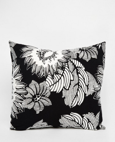 Fashion Shop - ASOS AFRICA Cushion in Mono Floral Print - Monofloralprint