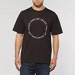Fashion Shop - APEX OVERSIZED T-SHIRT BLACK ROCK