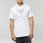 Fashion Shop - BUMMER T-SHIRT WHITE NOISE
