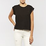 Fashion Shop - CLEAR OUT T-SHIRT STORM BLACK