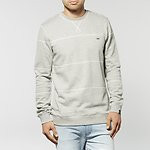 Fashion Shop - DOUBLE PLAY CREW JUMPER GREY MARLE