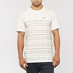 Fashion Shop - DRAW THE LINE T-SHIRT CLOUD WHITE