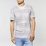 Fashion Shop - FINE STRIPE T-SHIRT WHITE NOISE