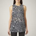 Fashion Shop - GOT BURNT TANK CHARCOAL MARLE