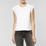 Fashion Shop - NO BRAINER T-SHIRT WHT LOGO WHITE