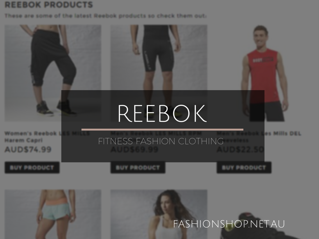Fashion Shop Reebok