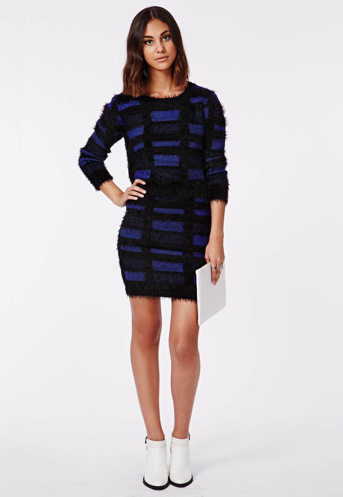 Fashion Shop - Fluffy Jumper Blue