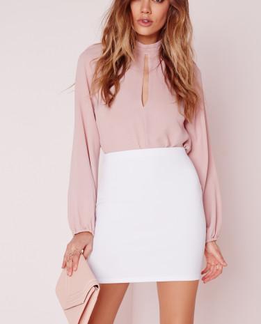 Fashion Shop - Mini Skirt White