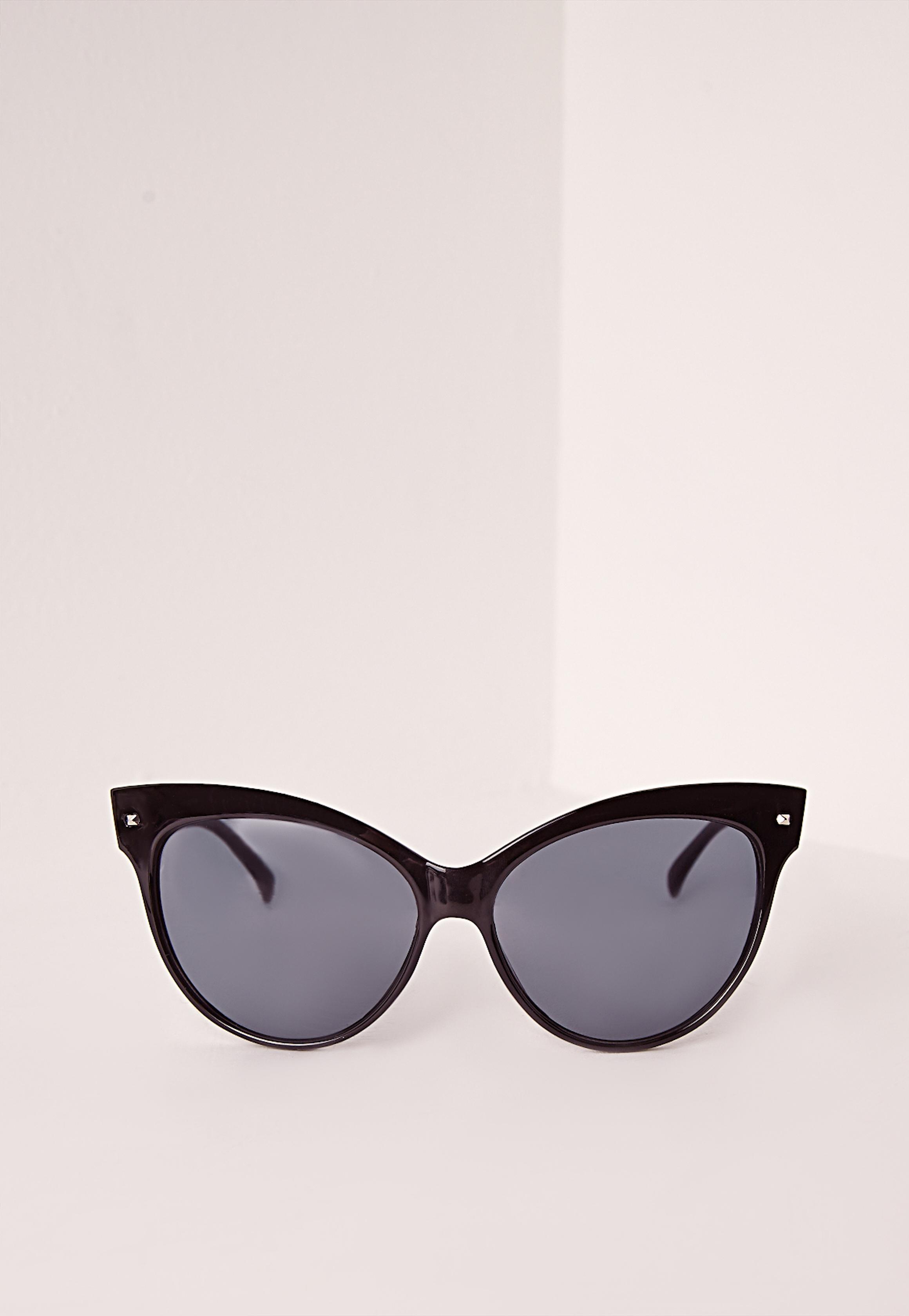 Fashion Shop - Shell Sunglasses Black