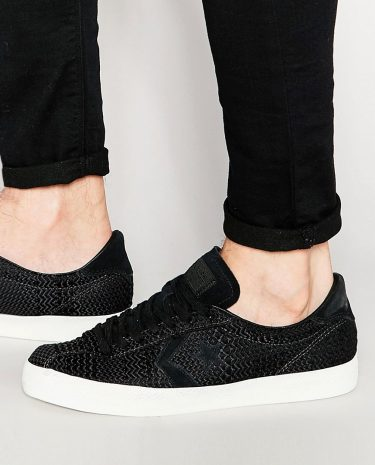Fashion Shop - Converse Star Player Breakpoint Woven Sneakers In Black 151313C - Black