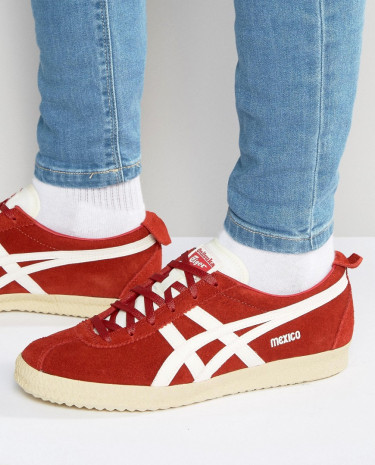 Fashion Shop - Onitsuka Tiger Mexico Delegation Sneakers - Red