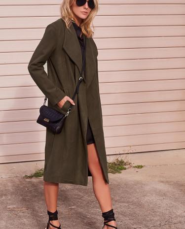 Fashion Shop - As You Are Khaki Coat