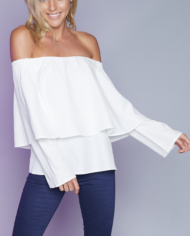 Fashion Shop - Cayley Top White