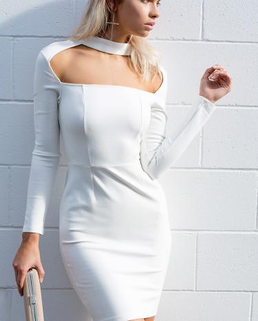 Fashion Shop - Don't Think Twice Dress White