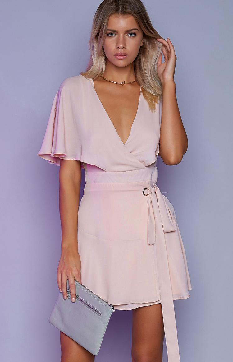 Fashion Shop - Florence Dress Pale Peach