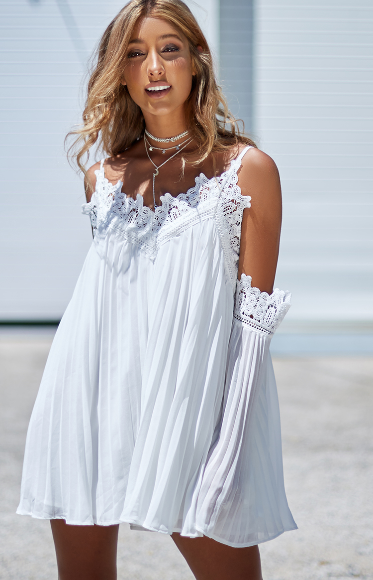 Fashion Shop - Gabriella Dress White