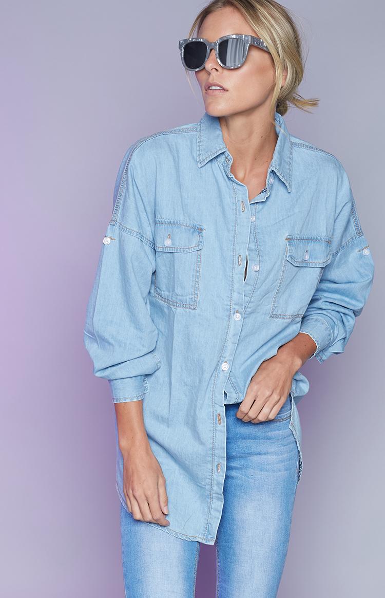 Fashion Shop - Katalin Denim Shirt