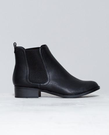 Fashion Shop - Lipstik Ashlee Boots Black