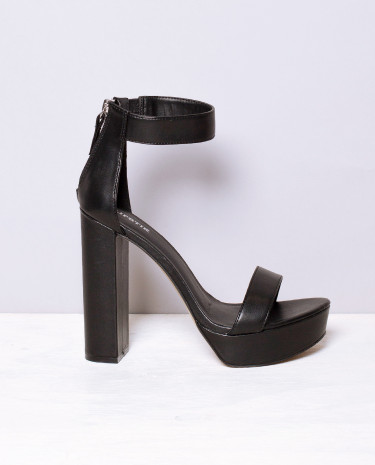 Fashion Shop - Lipstik Blaint Heel Black