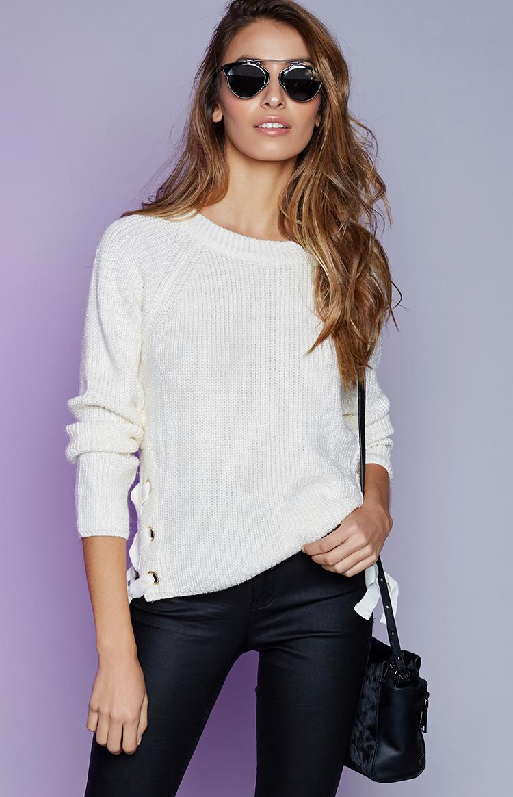 Fashion Shop - Unpredictable Knit Cream