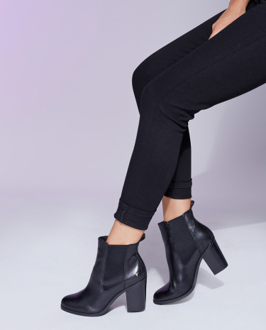 Fashion Shop - Windsor Smith Louey Boots Black Leather