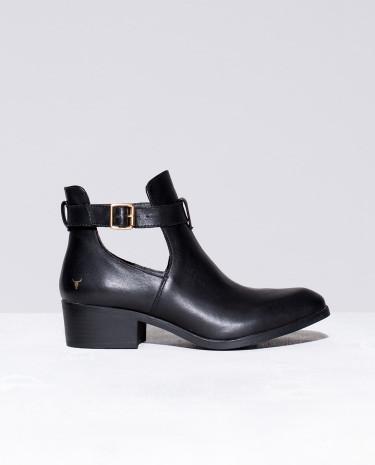 Fashion Shop - Windsor Smith Rowina Boots Black Leather