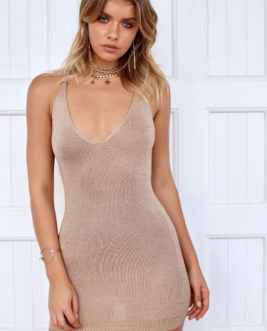 Fashion Shop - Maximum Dress Nude