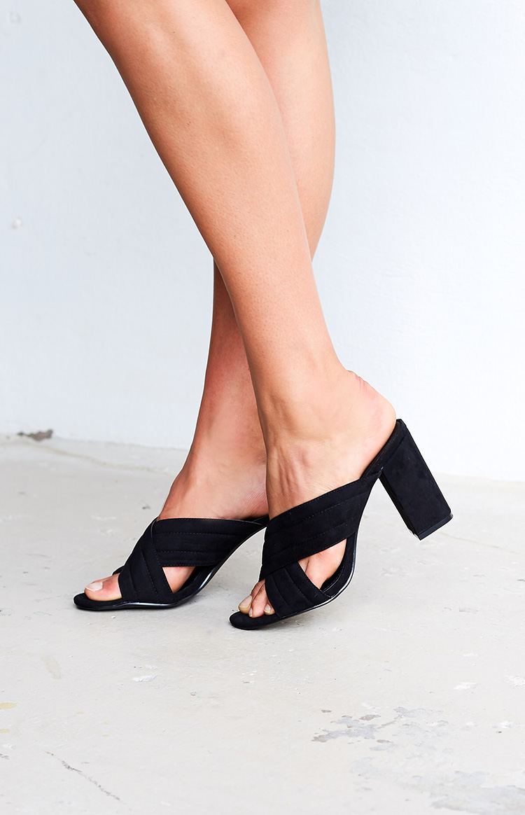Fashion Shop - Therapy Triola Mules Black