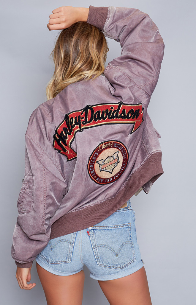 Fashion Shop - Vintage Harley Davidson Bomber Jacket