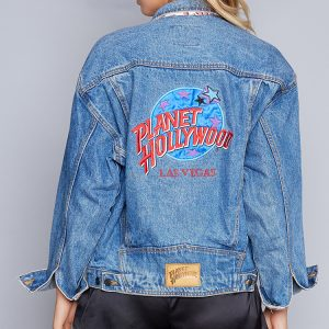 Fashion Shop - Vintage Planet Hollywood Las Vegas Denim Jacket