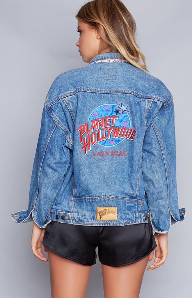 Fashion Shop - Vintage Planet Hollywood Las Vegas Denim Jacket