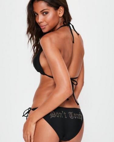 Fashion Shop - Don't Touch Hotfix Bikini Set
