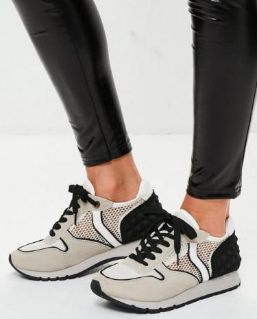 Fashion Shop - Mesh Stud Back Trainers