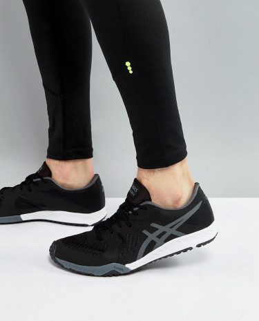 Fashion Shop - Asics Weldon X Training Sneakers In Black S707N-9097 - Black