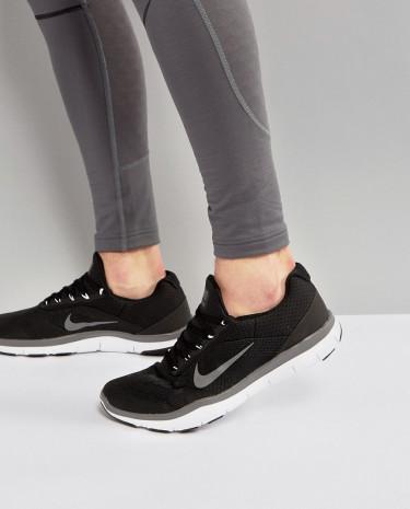 Fashion Shop - Nike Training Free V7 Sneakers In Black 898053-003 - Black