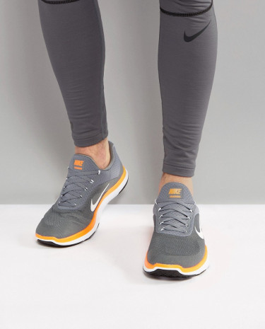 Fashion Shop - Nike Training Free V7 Sneakers In Grey 898053-001 - Grey