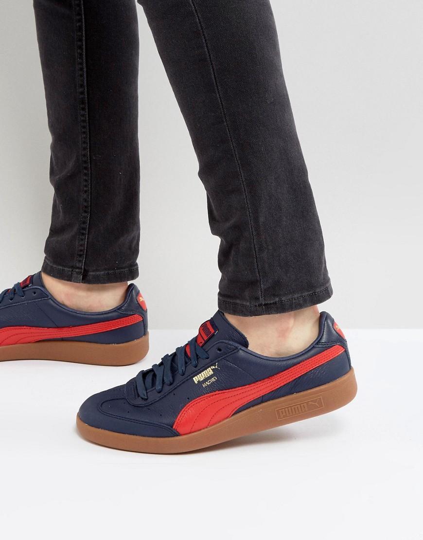 cheaper 543dd 7eadc Puma Madrid Sneakers - Blue