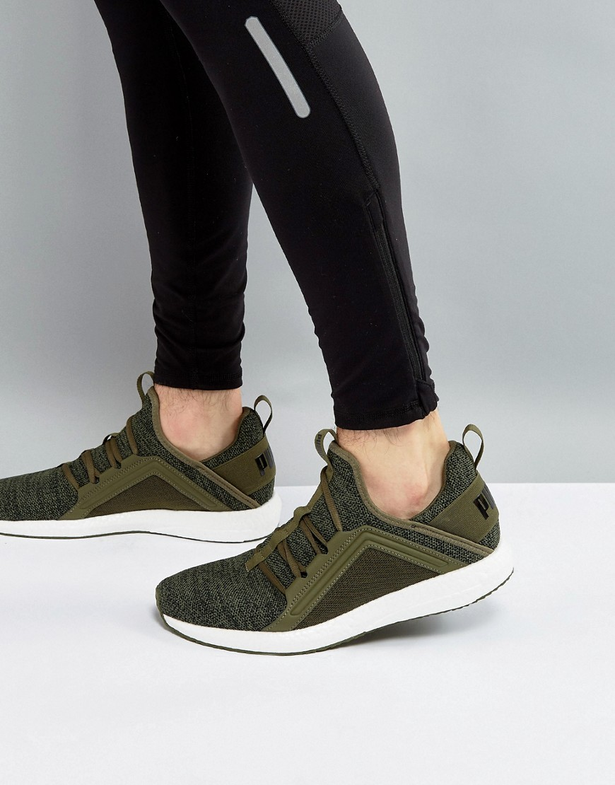 Fashion Shop - Puma Running Mega NRGY Knit Sneakers In Grey 19037102 - Grey
