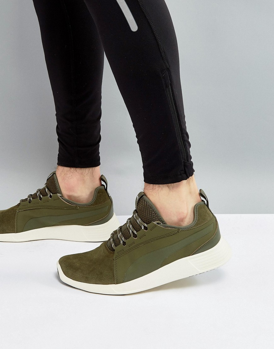 Fashion Shop - Puma Running ST Sneaker EVO v2 Sneakers In Khaki 36374002 - Green
